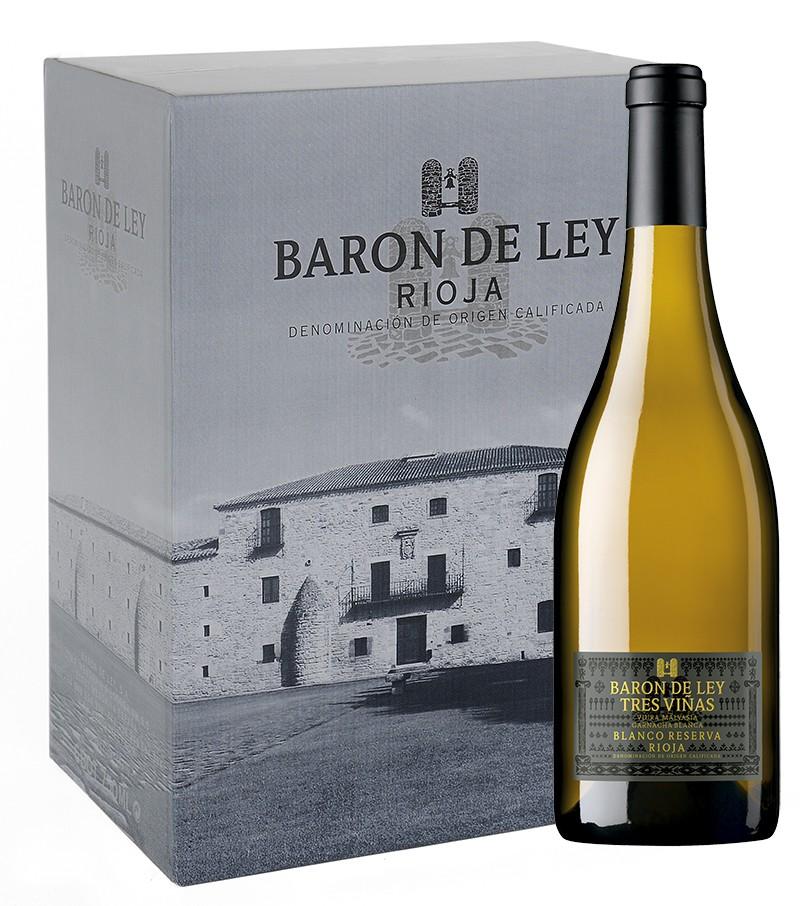 Imagen Barón de Ley 3 Viñas Blanco Reserva